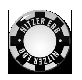 """Nitzer Ebb 2.25"""" Pin"""