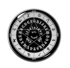 "Zodiac Ouija 2.25"" Pin"
