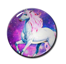 "Unicorn 2.25"" Pin"
