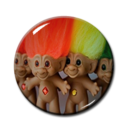 "Troll Dolls 2.25"" Pin"