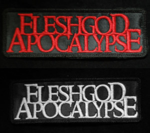 "Fleshgod Apocalypse  4.5x1.5"" Embroidered Patch"