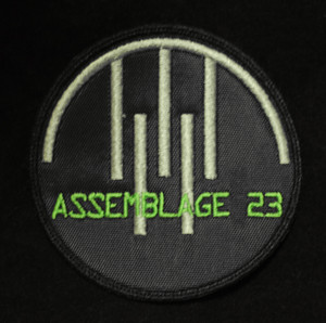 """Assemblage 23 3x3"""" Embroidered Patch"""