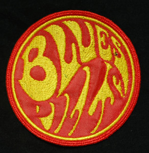 """Blues Pills 3x3"""" Red/Yellow Embroidered Patch"""