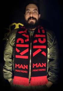 "Kraftwerk - Man Machine - 58x9"" Knitted Scarf"