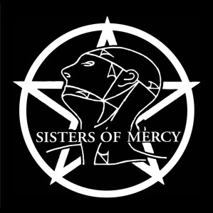 "Sisters of Mercy 4x4"" Printed Sticker"