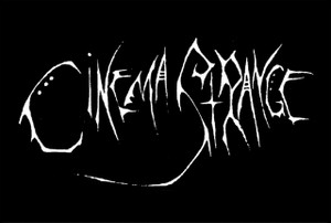 "Cinema Strange 6x4"" Printed Sticker"