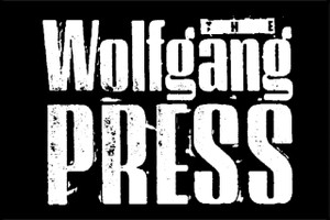 "The Wolfgang Press 6x4"" Printed Sticker"