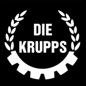 """Die Krupps 4x4"""" Printed Sticker"""