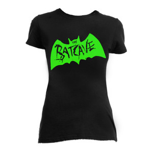 Batcave - Logo Girls T-Shirt