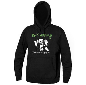 Eskorbuto Busco en la Basura Hooded Sweatshirt