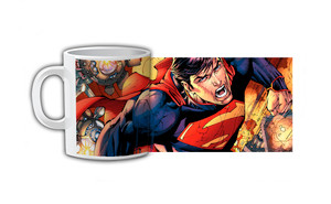 Superman Flying Coffee Mug