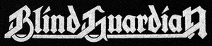"Blind Guardian Logo 7x2"" Printed Patch"