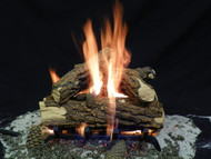 "Country Oak Deluxe 15"" - Gas Logs Only (no burner included)"