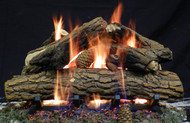 "Country Oak Deluxe 24"" - Gas Logs Only (no burner included)"