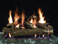 "Country Oak Deluxe 36"" - Gas Logs Only (no burner included)"