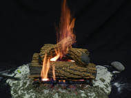 "Country Oak 15"" - Gas Logs Only (no burner included)"