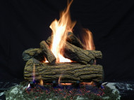 "Country Oak 18"" - Gas Logs Only (no burner included)"