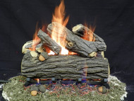 "Weathered Oak 18"" - Gas Logs Only (no burner included)"