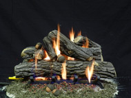 "Weathered Oak 24"" - Gas Logs Only (no burner included)"