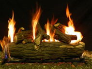 "Weathered Oak 30"" - Gas Logs Only (no burner included)"