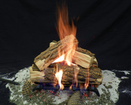 "Country Split 15"" - Gas Logs Only (no burner included)"