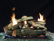 "Country Split 30"" - Gas Logs Only (no burner included)"