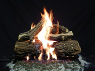 "Blazed Oak 24"" - Gas Logs Only (no burner included)"