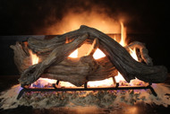 "Driftwood 36"" - Gas Logs Only (no burner included)"