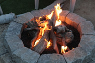 "30"" Driftwood Fire Pit Kit"