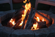 "36"" Driftwood Fire Pit Kit"