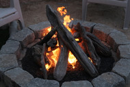 "42"" Driftwood Fire Pit Kit"
