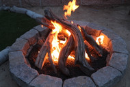 "48"" Driftwood Fire Pit Kit"