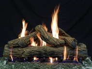 "Country Oak 36""- Complete Gas Log Set"