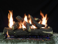 "Weathered Oak 36""- Complete Gas Log Set"