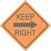 (R7) KEEP RIGHT - 24X24 CB