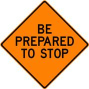 """(C36) BE PREP TO STOP - 48"""" VINYL"""