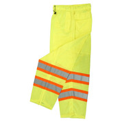 SP61 CLASS E MESH/SOLID PANT, LIME