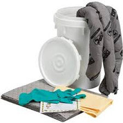 UNIVERSAL SPILL KIT BUCKET, 6.5 GALLON