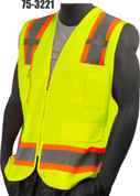 75-3221 YELLOW SOLID VEST