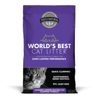 World's Best Lavender Cat Litter