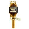 Bass Wood Bristle Oval Brush
