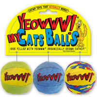 Ducky World Yeowww! My Cats Balls