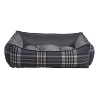 Bowsers Scoop Bed - Greystone Tartan
