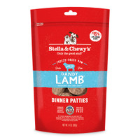 Stella & Chewy's Freeze-Dried Lamb Patties for Dogs