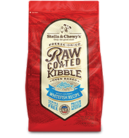 Stella & Chewy's Raw Coated Kibble - Wild-Caught Whitefish Recipe