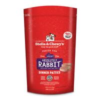 Stella & Chewy's Frozen Rabbit Patties for Dogs
