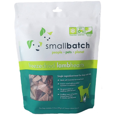 Small Batch Freeze Dried Lamb Heart Treats