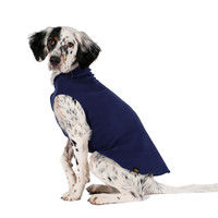 Gold Paw Series Stretch Fleece - Navy