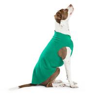 Gold Paw Series Stretch Fleece - Emerald Green