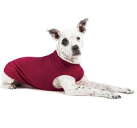 Gold Paw Series Stretch Fleece - Garnet
